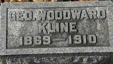 KLINE, GEO. WOODWARD - Erie County, Ohio | GEO. WOODWARD KLINE - Ohio Gravestone Photos