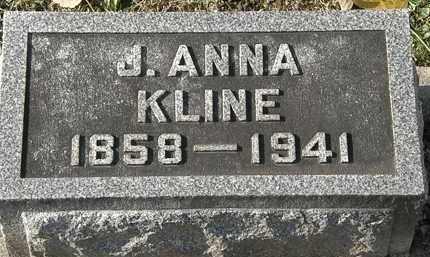 KLINE, J. ANNA - Erie County, Ohio | J. ANNA KLINE - Ohio Gravestone Photos