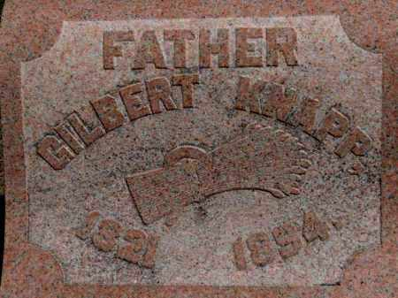 KNAPP, GILBERT - Erie County, Ohio | GILBERT KNAPP - Ohio Gravestone Photos