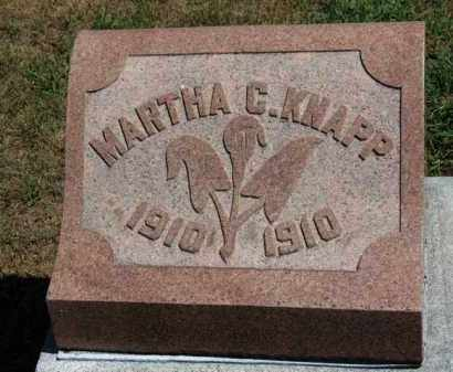 KNAPP, MARTHA C. - Erie County, Ohio | MARTHA C. KNAPP - Ohio Gravestone Photos