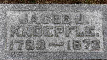 KNOEPFLE, JACOB J. - Erie County, Ohio | JACOB J. KNOEPFLE - Ohio Gravestone Photos