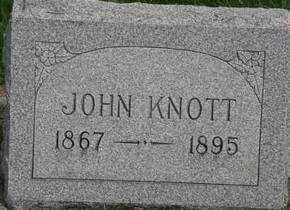 KNOTT, JOHN - Erie County, Ohio | JOHN KNOTT - Ohio Gravestone Photos