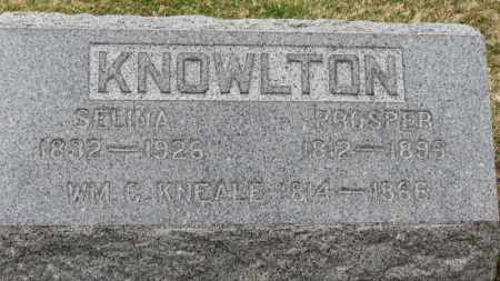 KNOWLTON, PROSPER - Erie County, Ohio | PROSPER KNOWLTON - Ohio Gravestone Photos