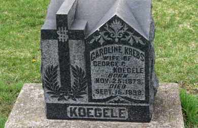 KOEGELE, GEORGE C. - Erie County, Ohio | GEORGE C. KOEGELE - Ohio Gravestone Photos