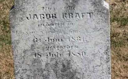 KRAFT, JACOB - Erie County, Ohio | JACOB KRAFT - Ohio Gravestone Photos