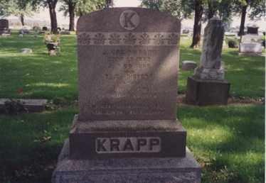 REIFERT KRAPP, ELIZA - Erie County, Ohio | ELIZA REIFERT KRAPP - Ohio Gravestone Photos