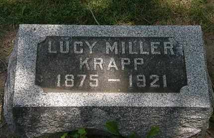 KRAPP, LUCY - Erie County, Ohio | LUCY KRAPP - Ohio Gravestone Photos