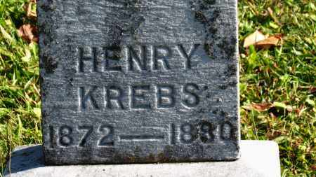 KREBS, HENRY - Erie County, Ohio | HENRY KREBS - Ohio Gravestone Photos