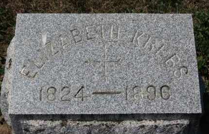 KREBS, ELIZABETH - Erie County, Ohio | ELIZABETH KREBS - Ohio Gravestone Photos