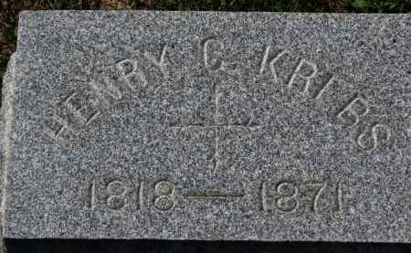 KREBS, HENRY G. - Erie County, Ohio | HENRY G. KREBS - Ohio Gravestone Photos