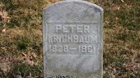 KRICHBAUM, PETER - Erie County, Ohio | PETER KRICHBAUM - Ohio Gravestone Photos