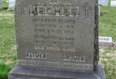 KROMER, ELIZABETH - Erie County, Ohio | ELIZABETH KROMER - Ohio Gravestone Photos