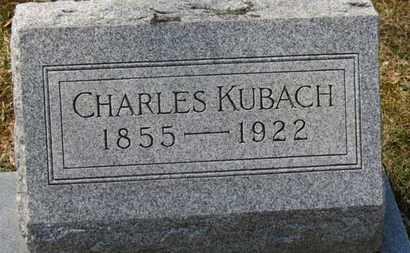 KUBACH, CHARLES - Erie County, Ohio | CHARLES KUBACH - Ohio Gravestone Photos