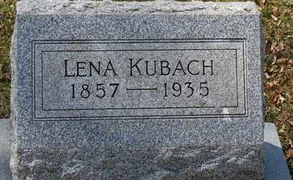 KUBACH, LENA - Erie County, Ohio | LENA KUBACH - Ohio Gravestone Photos