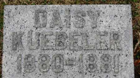 KUEBELER, DAISY - Erie County, Ohio | DAISY KUEBELER - Ohio Gravestone Photos