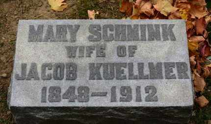 SCHMINK KUELLMER, MARY - Erie County, Ohio | MARY SCHMINK KUELLMER - Ohio Gravestone Photos