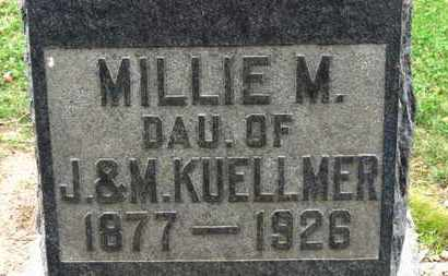 KUELLMER, MILLIE M. - Erie County, Ohio | MILLIE M. KUELLMER - Ohio Gravestone Photos
