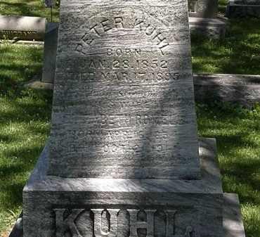 KUHL, ELIZABETH - Erie County, Ohio | ELIZABETH KUHL - Ohio Gravestone Photos