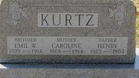 KURTZ, HENRY - Erie County, Ohio | HENRY KURTZ - Ohio Gravestone Photos
