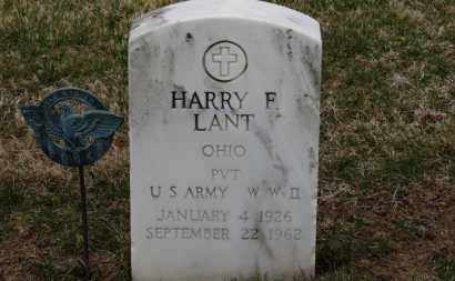 LANT, HARRY F. - Erie County, Ohio | HARRY F. LANT - Ohio Gravestone Photos