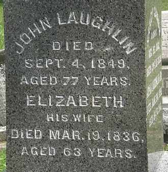 LAUGHLIN, JOHN - Erie County, Ohio | JOHN LAUGHLIN - Ohio Gravestone Photos