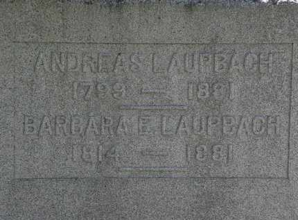 LAUPBACH, BARBARA E. - Erie County, Ohio | BARBARA E. LAUPBACH - Ohio Gravestone Photos