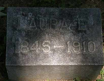 LAWLESS, LAURA E. - Erie County, Ohio | LAURA E. LAWLESS - Ohio Gravestone Photos