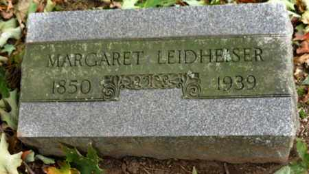 LEIDHEISER, MARGARET - Erie County, Ohio | MARGARET LEIDHEISER - Ohio Gravestone Photos