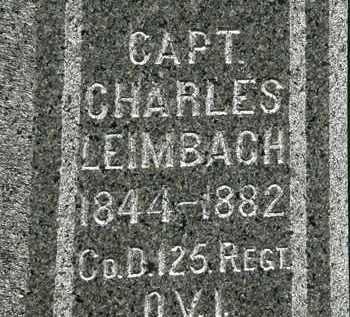 LEIMBACH, CHARLES - Erie County, Ohio | CHARLES LEIMBACH - Ohio Gravestone Photos