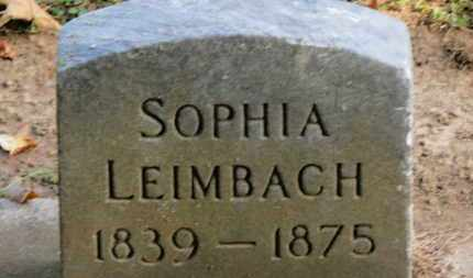 LEIMBACH, SOPHIA - Erie County, Ohio | SOPHIA LEIMBACH - Ohio Gravestone Photos