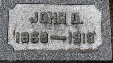 LEMMON, JOHN D. - Erie County, Ohio | JOHN D. LEMMON - Ohio Gravestone Photos