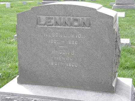LENNON, RHODA B. - Erie County, Ohio | RHODA B. LENNON - Ohio Gravestone Photos
