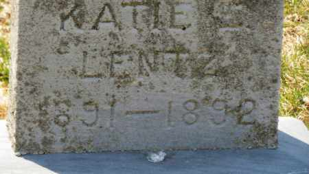 LENTZ, KATIE - Erie County, Ohio | KATIE LENTZ - Ohio Gravestone Photos