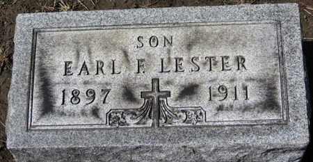 LESTER, EARL F. - Erie County, Ohio | EARL F. LESTER - Ohio Gravestone Photos