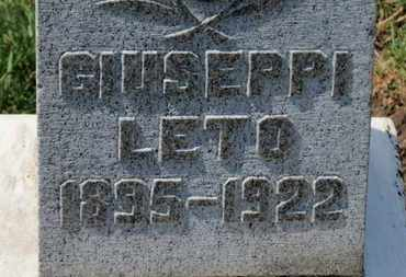 LETO, GIUSEPPI - Erie County, Ohio | GIUSEPPI LETO - Ohio Gravestone Photos