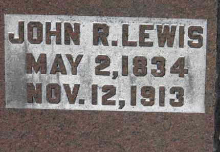 LEWIS, JOHN R. - Erie County, Ohio | JOHN R. LEWIS - Ohio Gravestone Photos