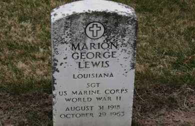 LEWIS, MARION GEORGE - Erie County, Ohio | MARION GEORGE LEWIS - Ohio Gravestone Photos