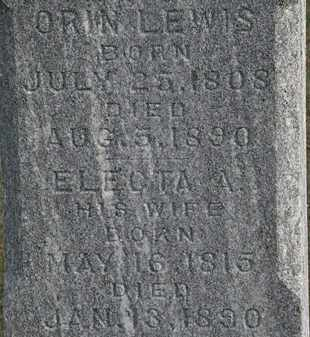 LEWIS, ORIN - Erie County, Ohio | ORIN LEWIS - Ohio Gravestone Photos