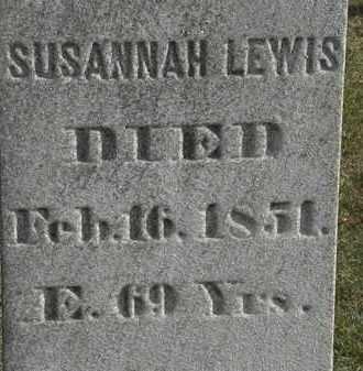 LEWIS, SUSANNAH - Erie County, Ohio | SUSANNAH LEWIS - Ohio Gravestone Photos