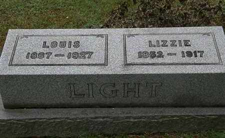 LIGHT, LIZZIE - Erie County, Ohio | LIZZIE LIGHT - Ohio Gravestone Photos