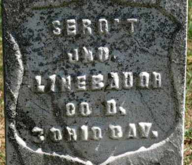 LINEBAUGH, JNO - Erie County, Ohio | JNO LINEBAUGH - Ohio Gravestone Photos