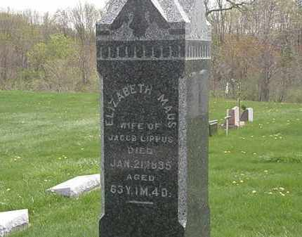 LIPPUS, JACOB - Erie County, Ohio | JACOB LIPPUS - Ohio Gravestone Photos
