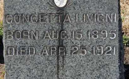 LIVIGNI, CONCETTA - Erie County, Ohio | CONCETTA LIVIGNI - Ohio Gravestone Photos