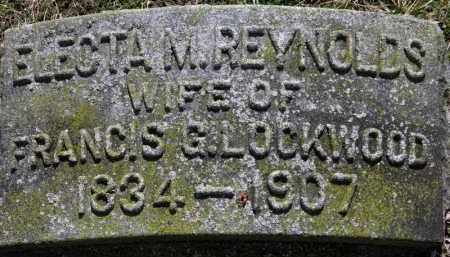 LOCKWOOD, ELECTA M. - Erie County, Ohio | ELECTA M. LOCKWOOD - Ohio Gravestone Photos