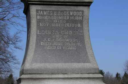 LOCKWOOD, JAMES C. - Erie County, Ohio | JAMES C. LOCKWOOD - Ohio Gravestone Photos