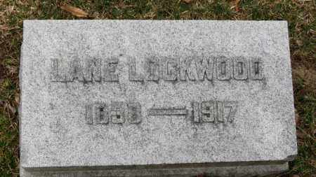 LOCKWOOD, LANE - Erie County, Ohio | LANE LOCKWOOD - Ohio Gravestone Photos