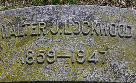 LOCKWOOD, WALTER J. - Erie County, Ohio | WALTER J. LOCKWOOD - Ohio Gravestone Photos