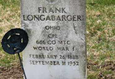 LONGABARGER, FRANK - Erie County, Ohio | FRANK LONGABARGER - Ohio Gravestone Photos