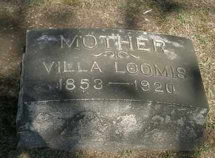 LOOMIS, VILLA - Erie County, Ohio | VILLA LOOMIS - Ohio Gravestone Photos