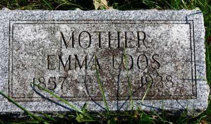 LOOS, EMMA - Erie County, Ohio | EMMA LOOS - Ohio Gravestone Photos